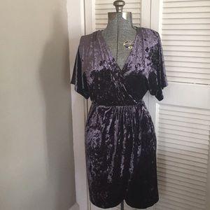 Xhilaration velvet feel (polyester/spandex) dress